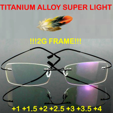 rimlessreadingglasse, lunettespourlire, titanium, lights