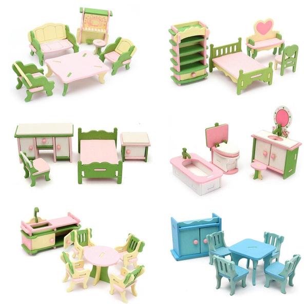 kidslearningtoy, Children, Kitchen & Dining, dollhousefurniture