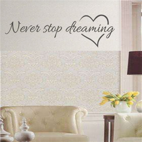 art, Home Decor, neverstopdreaming, Stickers