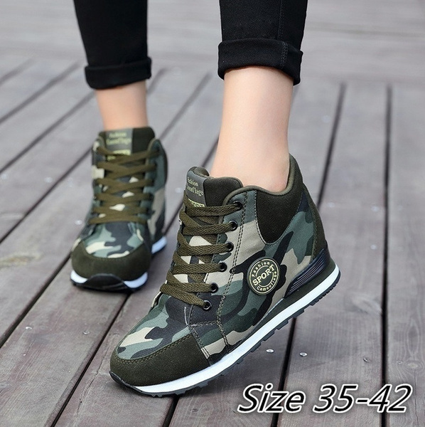 Fashion Camouflage Casual Shoes
