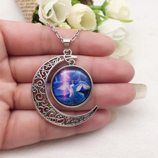 Necklaces Pendants, Jewelry, Angel, Glass