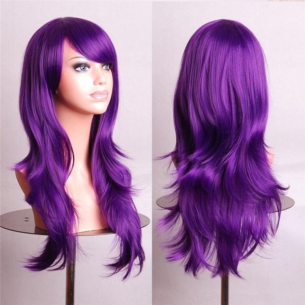Synthetic, wig, Cosplay, Long wig