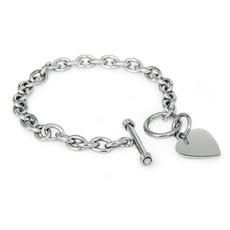 Steel, Heart, Sterling Silver Jewelry, Jewelry