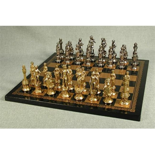 leather, Chess, chessset, Toys & Games