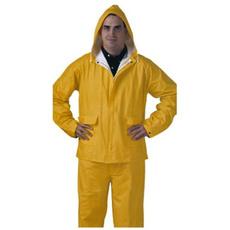 Apparel, Pvc, Jackets/Coats, Yellow