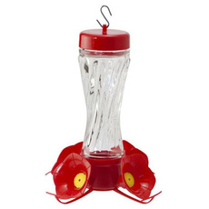 hummingbirdfeeder, swirl, Glass, For Your Pet