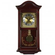Wood, Clock, Cherry, mahogany