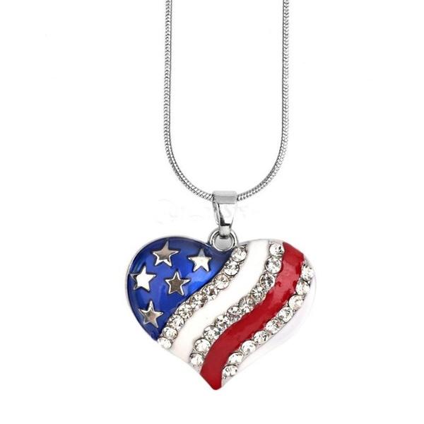 Heart, art, Jewelry, Usa