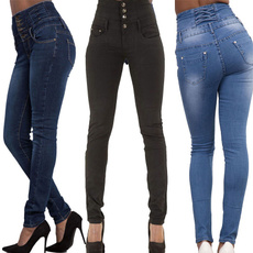 Blues, skinny jeans, slim, waisted