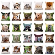 dogpillowcase, case, living room, Home Decor