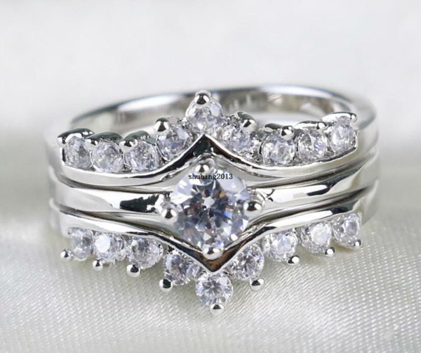 White Gold, Gifts, whitegoldfilled, aaaczring