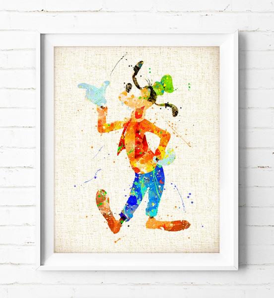 art print, giftsforkid, Decor, watercolorart