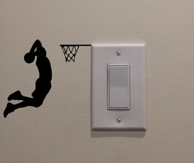 art, Sports & Outdoors, lightswitchdecal, Stickers