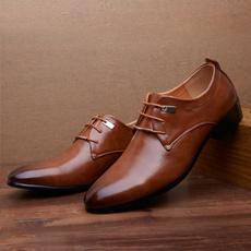 casual shoes, Flats & Oxfords, Plus Size, leather shoes