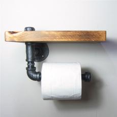 toiletpaperholder, urban, Wall Mount, Wooden