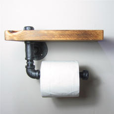 toiletpaperholder, urban, Wall Mount, Wooden
