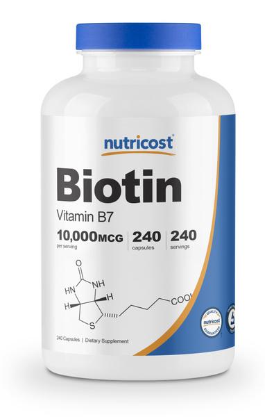 biotinpill, vitaminb7, nutricostbiotincapsule, b7
