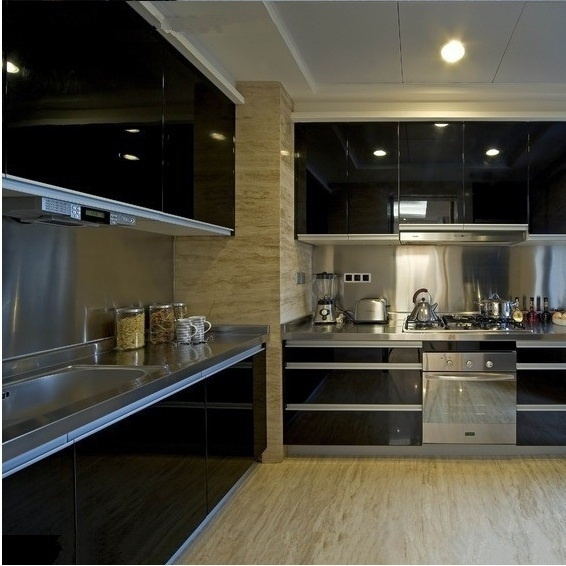 Waterproof Self Adhesive Wallpaper Roll For Kitchen Cupboard Cabinet Vinyl Wall Papers Decorative Films 0 6m 3m Wish
