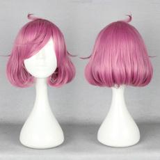pink, wig, Shorts, Cosplay