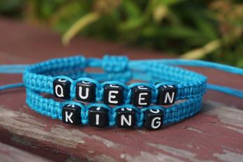 couplesbracelet, King, hisher, lovesbracelet