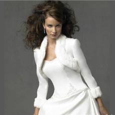 fashionwrap, fur, Long Sleeve, ivoryfauxfurwrap