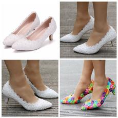 Shoes, laceweddingshoe, Princess, whitecollarworkshoe