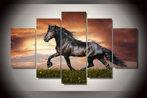 livingroomwallpainting, horse, largewallpainting, Office