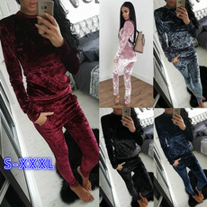 velvet, Winter, Bottom, Long Sleeve