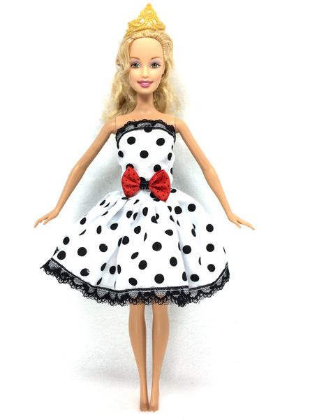 Fashion, short dress, for, Barbie