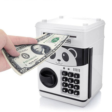 Mini, piggybank, Home Decor, passwordbox