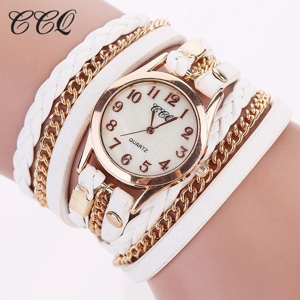 Fashion, bracelet watches, Jewelry, leather