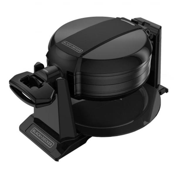 black, wafflepancakemaker, countertopcookingappliance, Kitchen