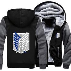 Thicken, Fleece, Fashion, Winter