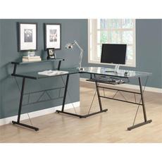 Computers, black, Office, Desk
