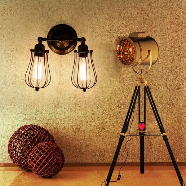 Mini, vintageceilinglight, industriallighting, e27walllamp