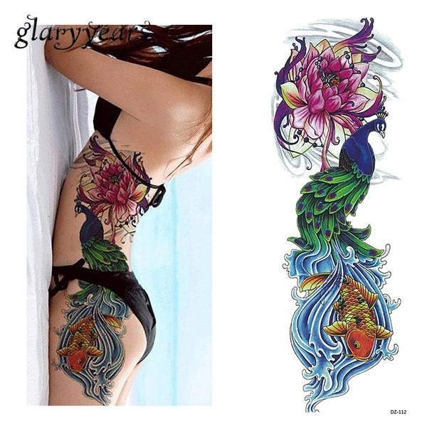tattoo, Flowers, art, Beauty