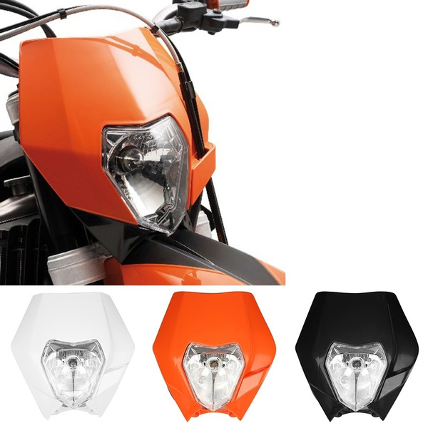 amber, forktm, exc, motorcrossheadlight