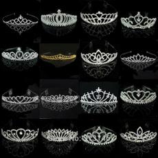 tiarasheadband, gold, Wedding, crown