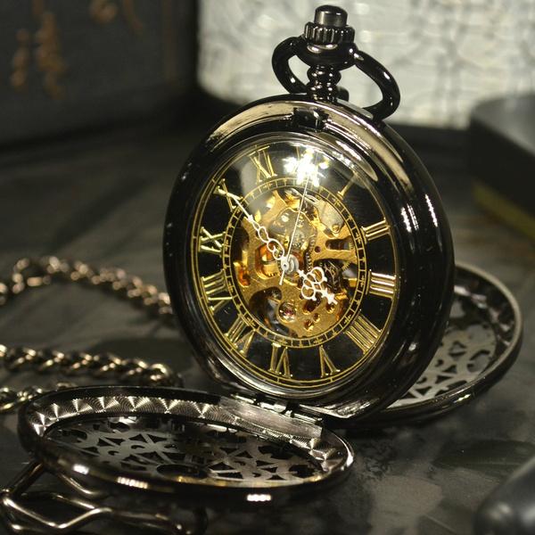 bolsorelógio, Chain Necklace, Fashion, steampunkmen