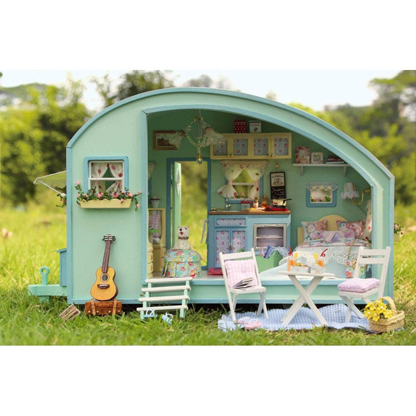 miniaturedollhousefurniture, lights, musicbox, puzzletoysforchildren