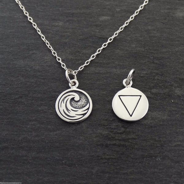 Sterling, Jewelry, sided, sterling silver