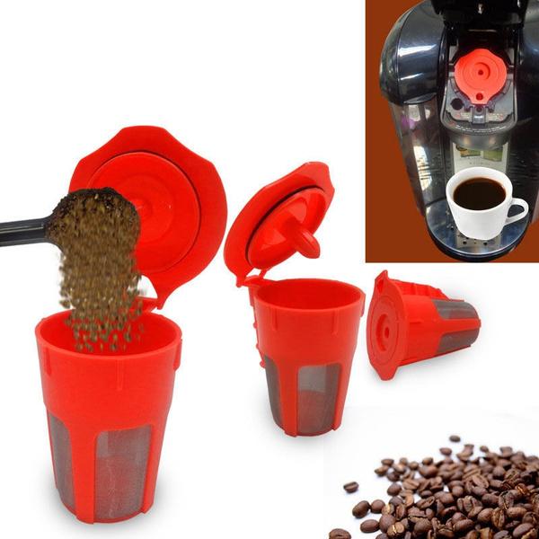 Coffee, filterpod, coffeefilter, meshfilter