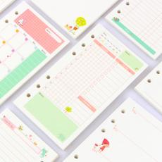 cute, weekplanner, innerpaper, refillinnerpaper