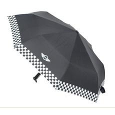 Mini, checkered, Umbrella, folding