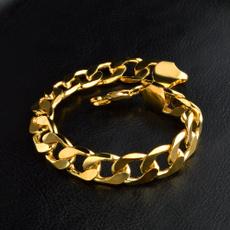 goldplated, Bracelet, Chain bracelet, Jewelry