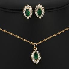 Cubic Zirconia, Beautiful, Jewelry, gold