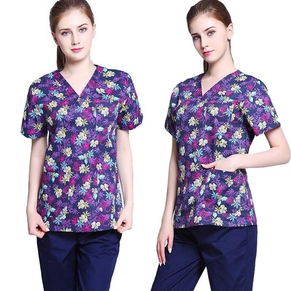 medicalscrub, Fashion, scrubtop, nursingclothe