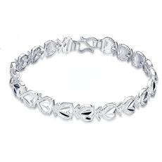 Sterling, Crystal Bracelet, Fashion, 925 sterling silver