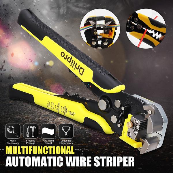 cablestripper, wiretool, crimperplierstool, wirecutter