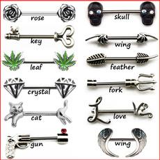 roseflowernipplering, nipplejewelery, Jewelry, nipplepiercing